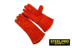 Guante Soldador Rojo - Steelpro