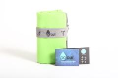 Toalla Outdoor Microfibra Antibacterial Verde S