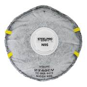 RESPIRADOR DESCARTABLE STEELPRO N95 (10 UN) 2740CV