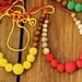Collar solid yellow