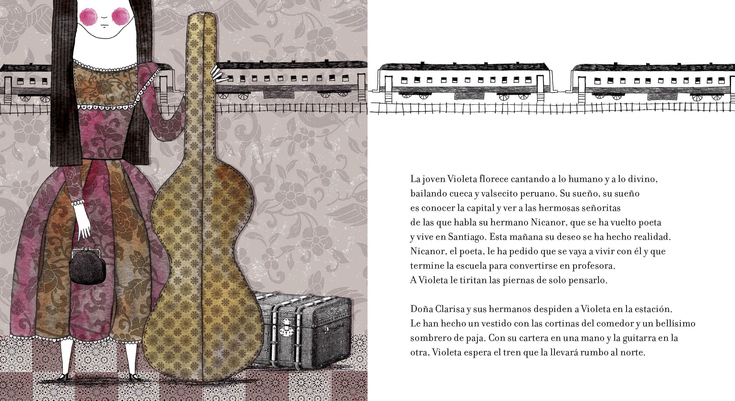 """Résultat de recherche d'images pour """"la niña violeta"""""""