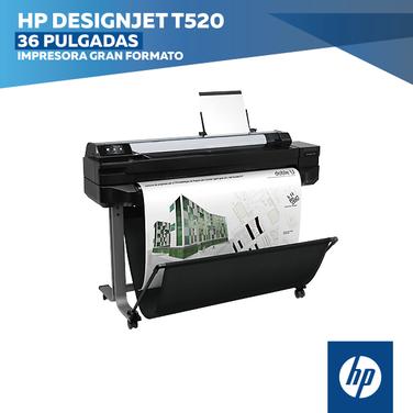 Plotter HP DesignJet Serie T520 36