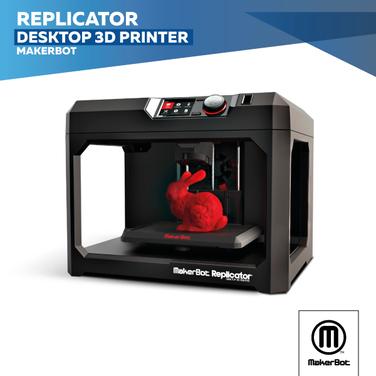 Impresora 3d Makerbot Replicator+