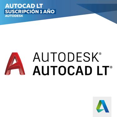 Software Autodesk AutoCAD LT 2018 (Suscripción 1 Año)