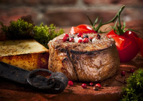 ideas para la cena navidea filete de vacuno al romero